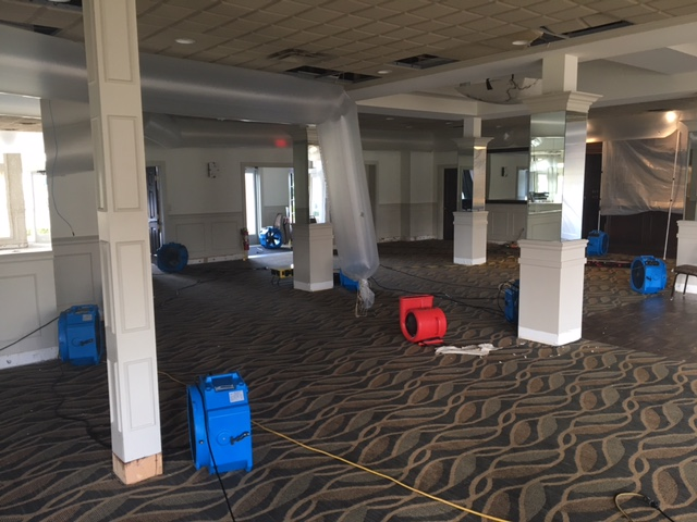 Commercial Water Damage Restoration Michigan Select